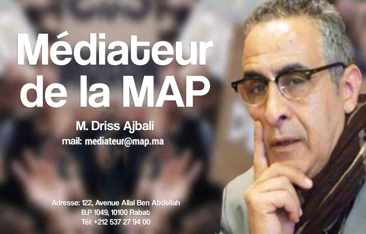 Médiateur de la MAP