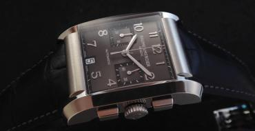 Une Baume & Mercier Hampton XL Automatic Chronograph ©DR